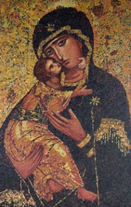 Artwork from Nazareth's Basilica of the Annunciation