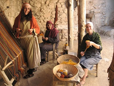 Mission hike the jesus trail with 1st century clothing for Ancient israelite cuisine