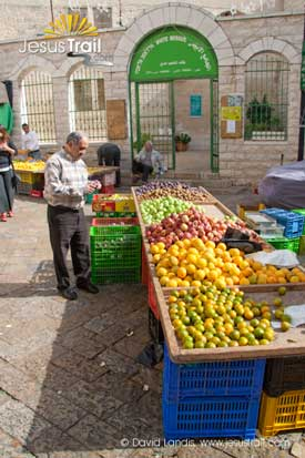 The souq of Nazareth's Old City